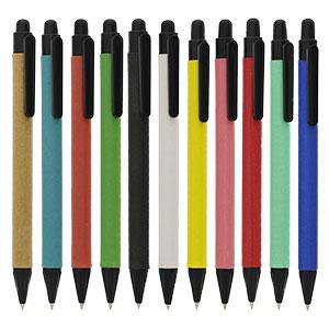 紙ペン ノック式ボールペン