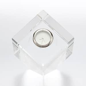 NARUMI グラスワークス 卓上3D地球時計