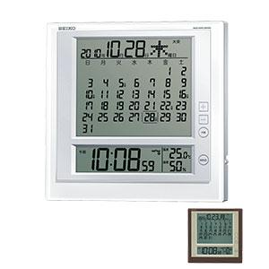 セイコー 電波掛け置き兼用時計 SQ422W