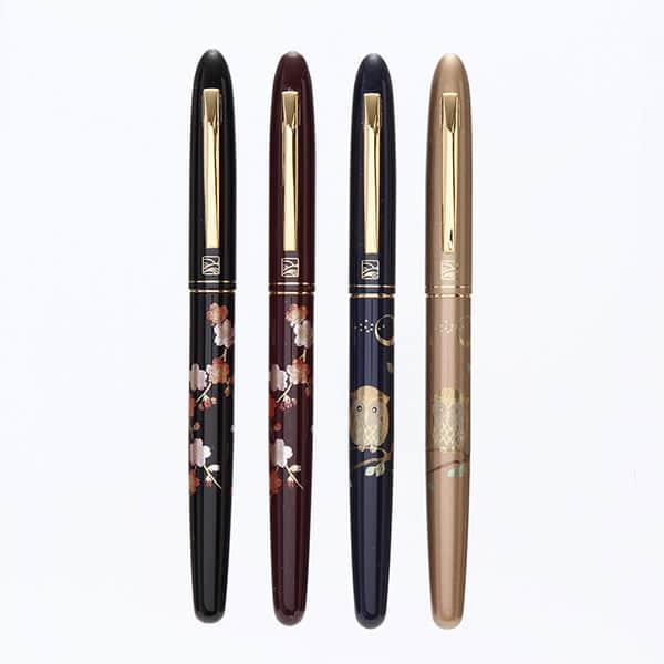 日本文化の美しさが見える手紙ペン、くれ竹の蒔絵物語
