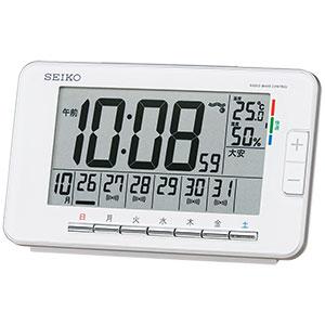 セイコー デジタル電波時計 ウィークリーアラーム SQ774