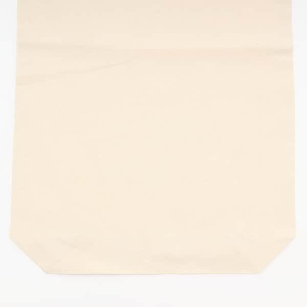 無漂白コットン巾着 Lサイズ 船底 (既製品)600×400×100mm