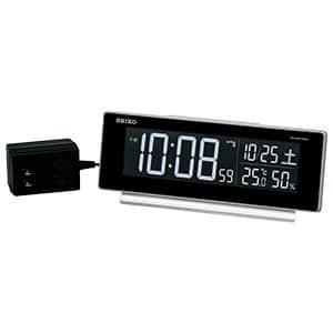 セイコー デジタル電波目覚まし時計 カラー液晶 DL207S