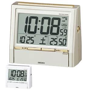 セイコー 音声時報付き電波時計 トークライナー DA206