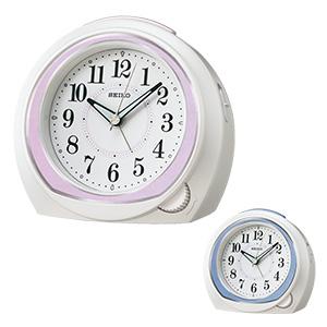 セイコー アナログ目覚まし時計 前面ダイヤル式 KR890