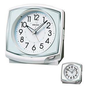セイコー アナログ目覚まし時計 前面ダイヤル式 KR891