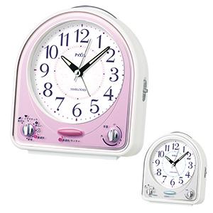 セイコータイムクリエーション社製 PYXIS(ピクシス) メロディ31曲 目覚まし時計 NR435