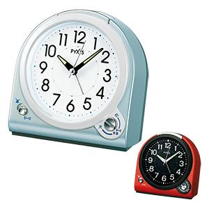 セイコータイムクリエーション社製 PYXIS(ピクシス) 目覚まし時計 NQ705