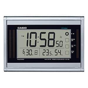 カシオ 掛け置き兼用 デジタル 電波時計 IDS-160J-8JF