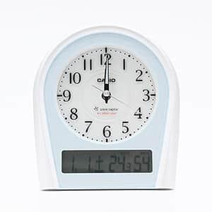 カシオ 電子音 アナログ兼デジタル表示 卓上電波時計 TTM-160NJ-8JF
