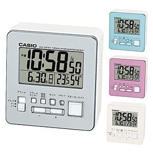 カシオ 電子音 四角形 デジタル 卓上電波時計 DQD-805J