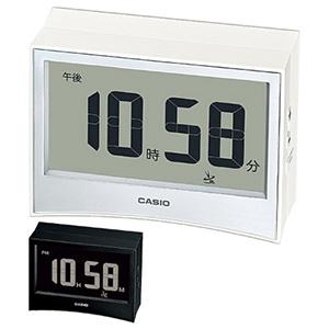 カシオ 電子音 長方形 デジタル 卓上電波時計 DQD-S01J