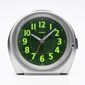 カシオ アナログ目覚まし時計 ベル音タイプ 集光樹脂文字板 TQ-381-8JF