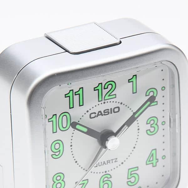 カシオ アラーム付きアナログトラベルクロック 電子音タイプ 一発鳴り止め TQ-141-8JF