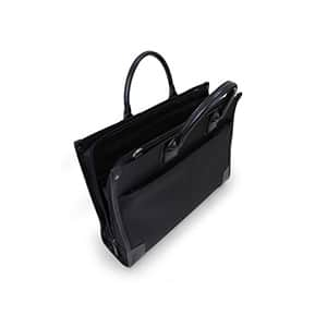 ビジネスバック リナジーノ B4書類 収納可能 ブラック