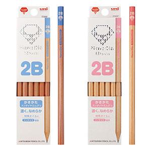 三菱鉛筆 ナノダイヤ鉛筆 2B B 6角調 ダース箱