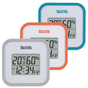 タニタ デジタル温湿度計 小型 TT-558