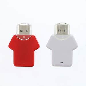 【受注生産】USBメモリー Tシャツ型 8GB