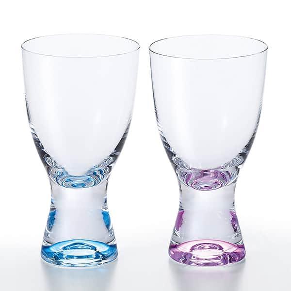 NARUMI グラスワークス ルミエール ペアゴブレット グラス カリクリスタル 290cc