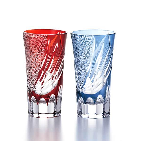 NARUMI グラスワークス ブリーズ ペアショートグラス ソーダガラス 120cc