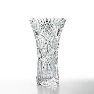 NARUMI グラスワークス フローラ 花瓶 20cm カリクリスタル