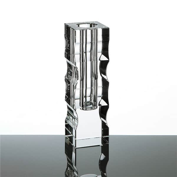 NARUMI グラスワークス サーフ ベース S 花瓶 光学ガラス