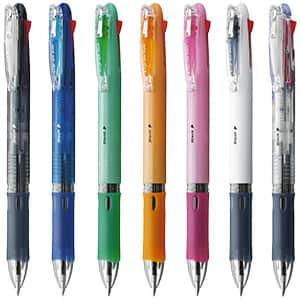 ゼブラ クリップ-オンスリム 4色油性ボールペン 0.7mm B4A5