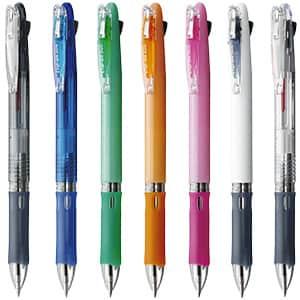 ゼブラ クリップ-オンスリム 2色油性ボールペン 0.7mm B2A5