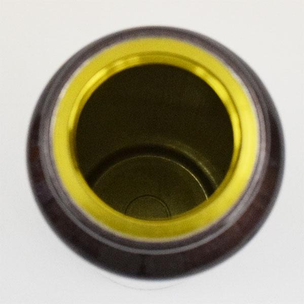 アルミスリムボトル カラビナ付 220ml