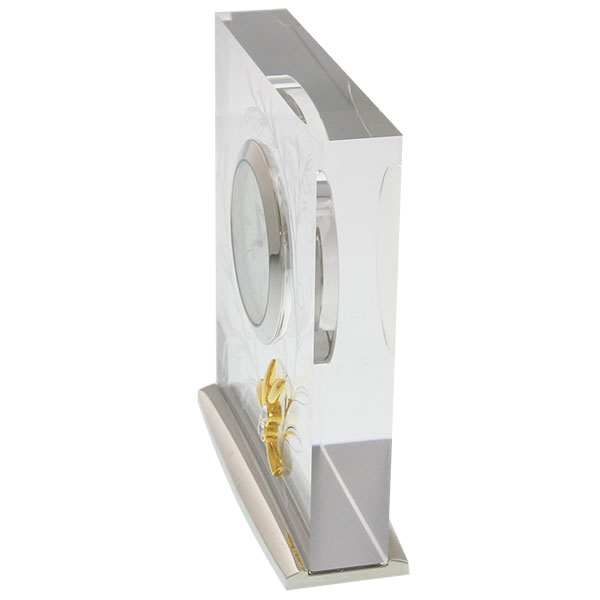セイコークロック レスポワール スクエア時計 UF520
