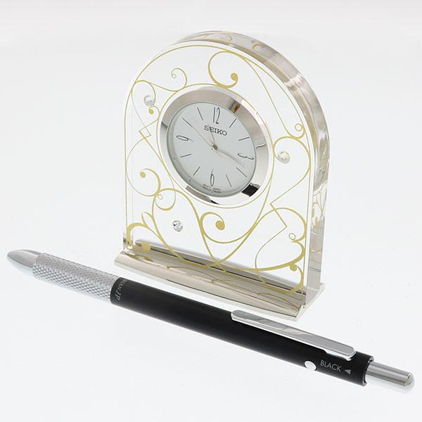 セイコークロック レスポワール アーチ時計 UF521