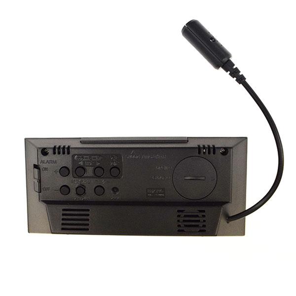 リズム デジタル電波時計 イロリア エム 8RZ196SR