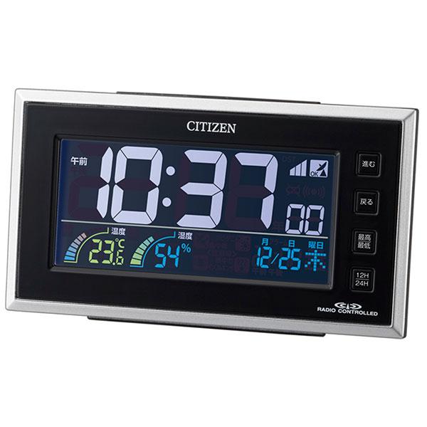 シチズン デジタル電波時計 AC電源式 8RZ121-002