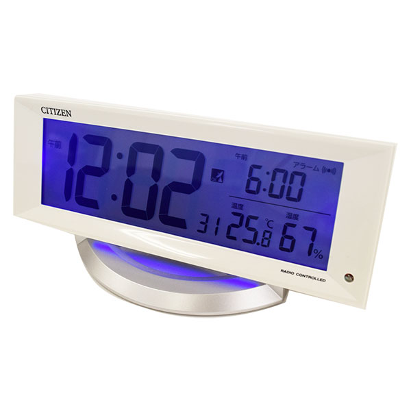 シチズン デジタル電波時計 暗所自動点灯機能付 8RZ202-003