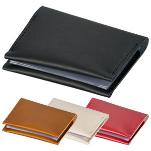 本革カードケース 6ポケット 4色展開