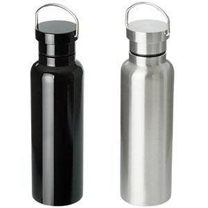 ステンレスボトル ダブルウォール 500ml 2色展開