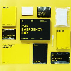 カーエマージェンシーボックス 車用非常用持ち出しセット