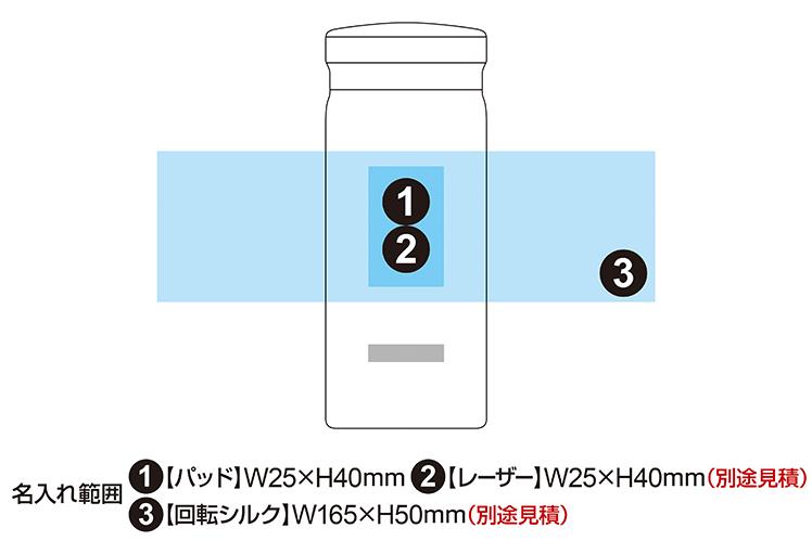 ピーコック ステンレスマグボトル 200ml AKB-20