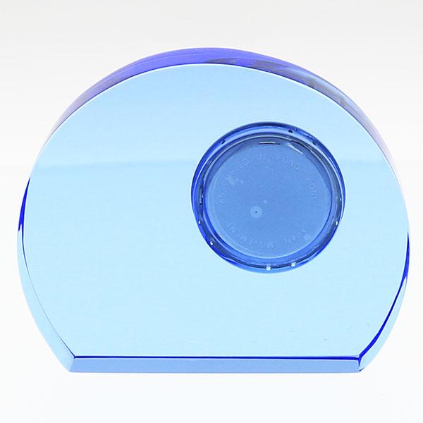 光学ガラス時計 ピーコック