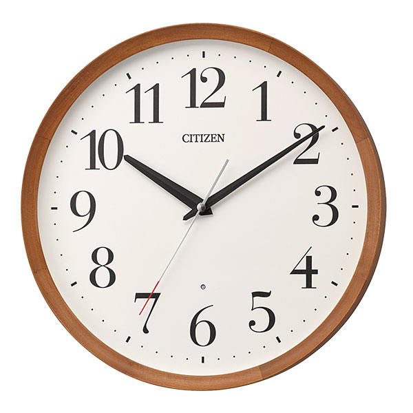 メンテナンス不要で、常にNHK並に正確な時刻を知らせてくれるCITIZEN (シチズン)電波時計