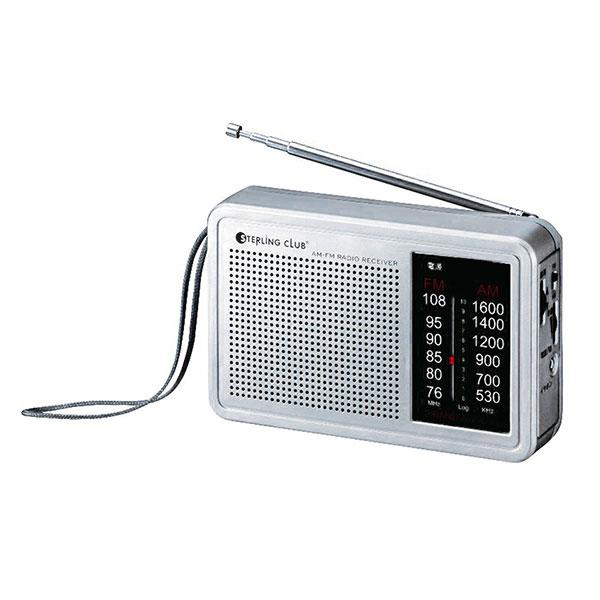 AM/FMデスクラジオ ワイドFM対応