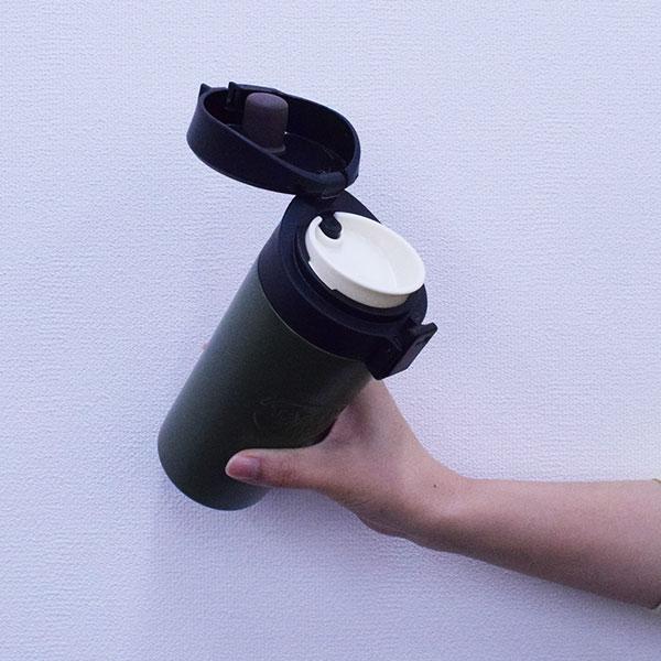 ワンタッチ式 コーヒーマグボトル 370ml