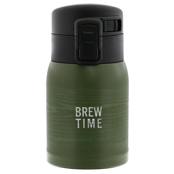 ワンタッチ式ステンレスボトル 200ml