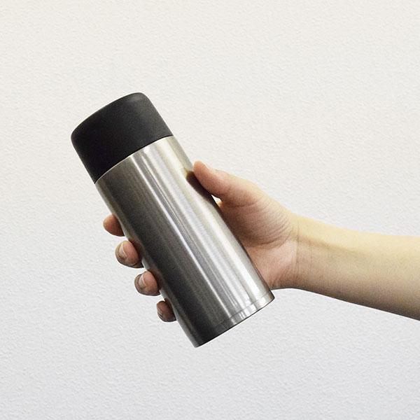 軽量2WAYマグボトル 350ml・370ml(キャップ2種付き)