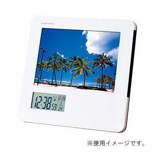 フォトフレーム電波時計 L判サイズ対応
