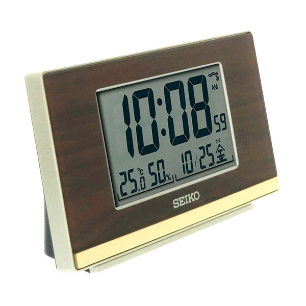 セイコー 電波目覚まし時計 SQ793