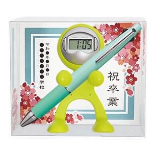 【卒業記念品台紙】クロックレンジャー 三菱鉛筆 ジェットストリーム 5機能ペンセット(0.5mm)