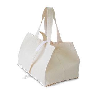 無漂白コットンコンビニ袋 (既製品)