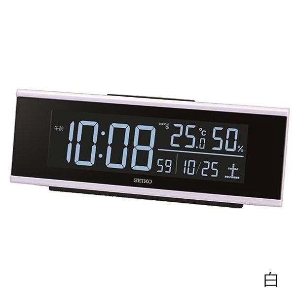 セイコー グラデーション機能付き電波時計 DL307