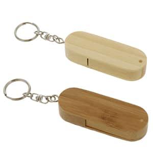 【受注生産】バンブー(竹製)USBメモリ 8GB